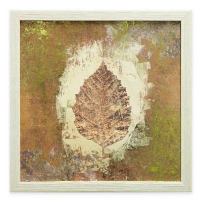 Gilded Leaf I Framed Wall Art
