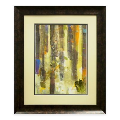 Golden Forest II Framed Wall Art