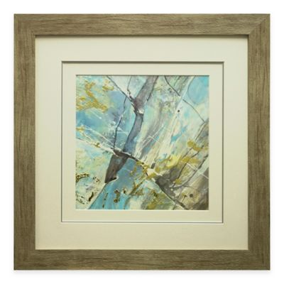 Blue Water II Framed Wall Art