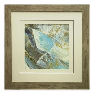 Blue Water I Framed Wall Art