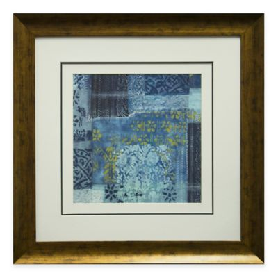 Alhambra Indigo II Framed Wall Art