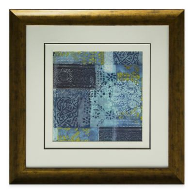 Alhambra Indigo I Framed Wall Art
