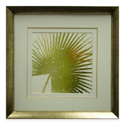 Gold Leaves II Framed Wall Art