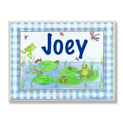 Stupell Frog Lake Rectangular Wall Art