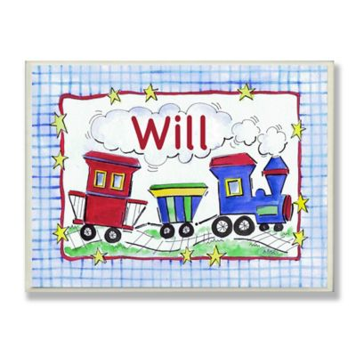 Stupell Choo Choo Train Rectangular Wall Art