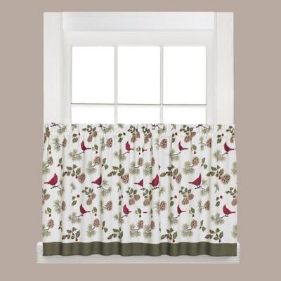 Cheerful Trimmings 36-Inch Window Tier Pair