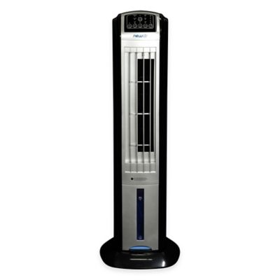 NewAir AF-310 35-Inch Evaporative Tower Fan in Silver/Black
