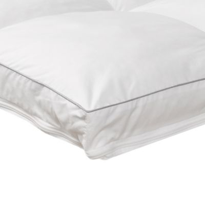 Sanctuary Collection Luxurious Zip N' Wash Twin Mattress Pad in White