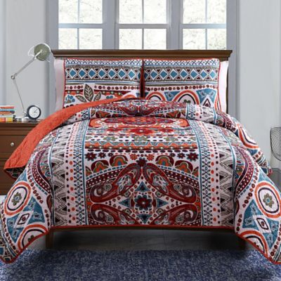 Multi Comforter Quilt Set