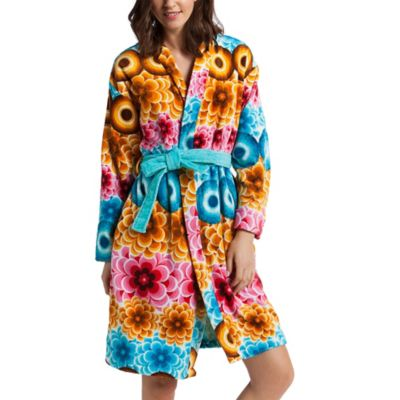 Desigual® Mandala Large Bath Robe in Multi