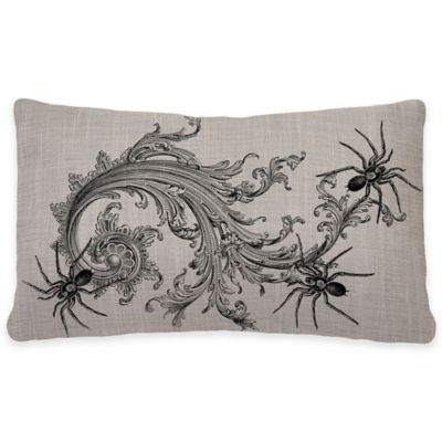 Heritage Lace® Gothic Spider Oblong Throw Pillow