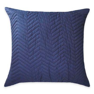 Blissliving® Home Francisco European Pillow Sham in Navy