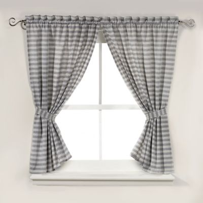 Arcadia Window Shower Curtain Pair