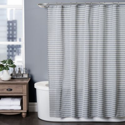 buy wamsutta classic stripe 72 inch x 96 inch shower curtain from bed bath beyond. Black Bedroom Furniture Sets. Home Design Ideas