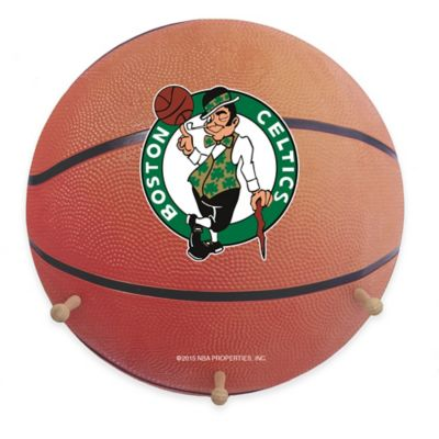 NBA Boston Celtics Team Logo Basketball Coat Rack