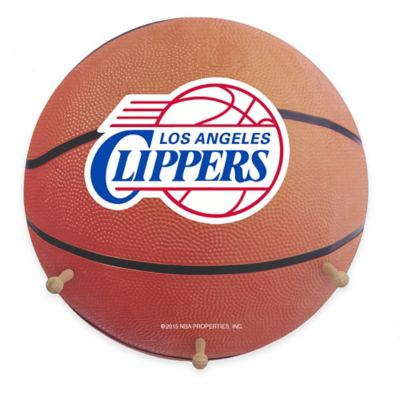 NBA Los Angeles Clippers Team Logo Basketball Coat Rack