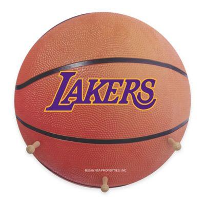NBA Los Angeles Lakers Team Logo Basketball Coat Rack