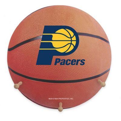 NBA Indiana Pacers Team Logo Basketball Coat Rack