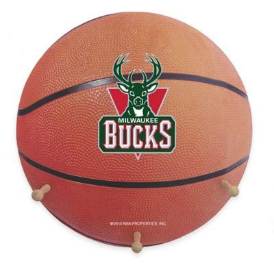 NBA Milwaukee Bucks Team Logo Basketball Coat Rack