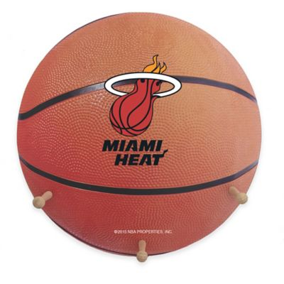 NBA Miami Heat Team Logo Basketball Coat Rack