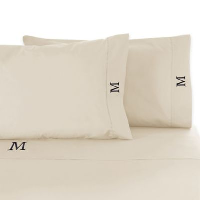 Cambridge 300-Thread-Count Cotton King Sheet Set in Ivory