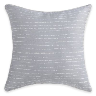 Malibu Cove Square Throw Pillow in Multi