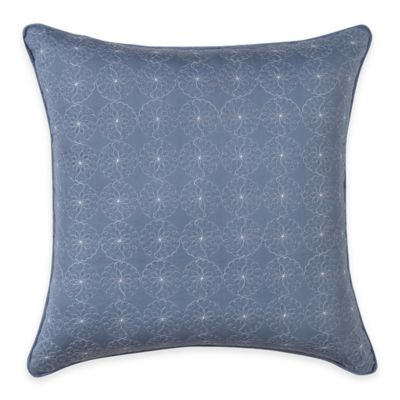 Wendy Bellissimo™ Maverick Eyelet Square Throw Pillow in Multi