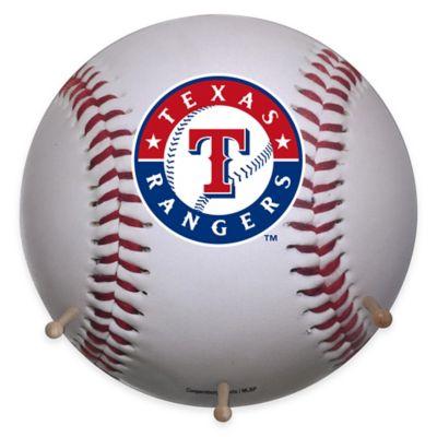 MLB Texas Rangers Team Logo Baseball Coat Rack