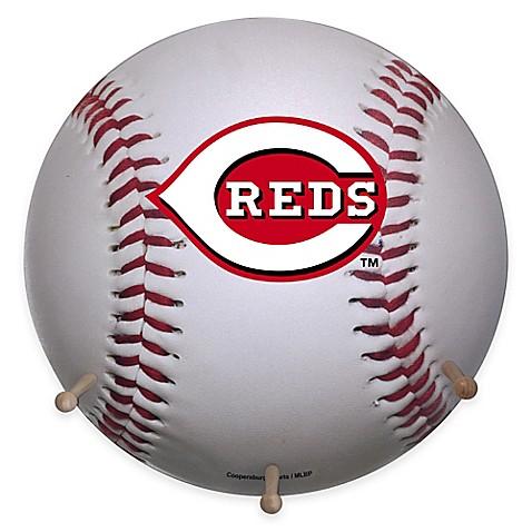 Mlb Cincinnati Reds Team Logo Baseball Coat Rack Www