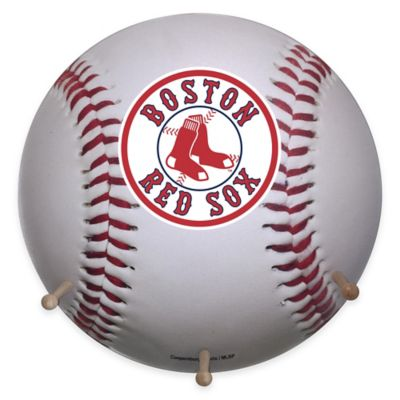MLB Boston Red Sox Team Logo Baseball Coat Rack
