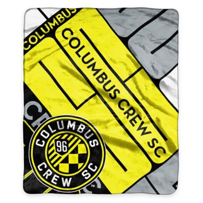 MLS Columbus Crew Super-Plush Raschel Throw Blanket