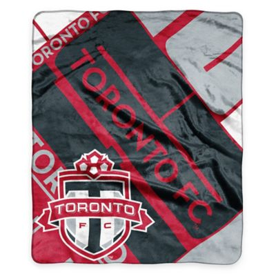 MLS Toronto FC Super-Plush Raschel Throw Blanket