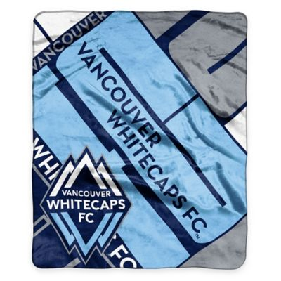 MLS Vancouver Whitecaps Super-Plush Raschel Throw Blanket