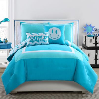 4-Piece Twin Comforter Set