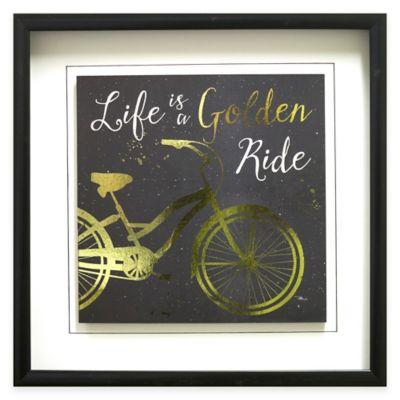 Golden Ride I Framed Wall Art