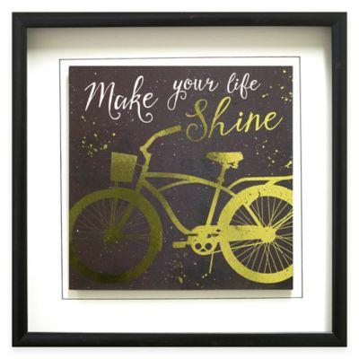 Golden Ride II Framed Wall Art