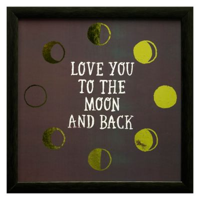To The Moon Framed Wall Art