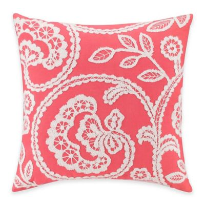 Kas Australia Ingrid Lola Square Throw Pillow