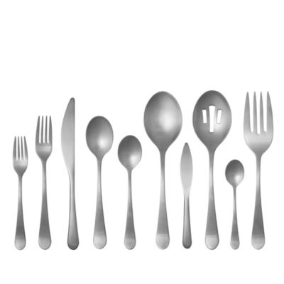 Gourmet Settings Windermere Matte 45-Piece Flatware Set