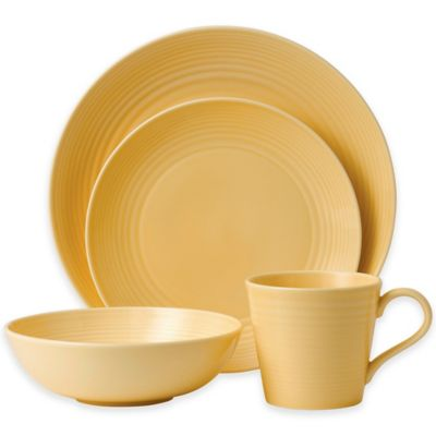 Gordon Ramsay by Royal Doulton® Maze 4-Piece Place Setting in Buttermilk