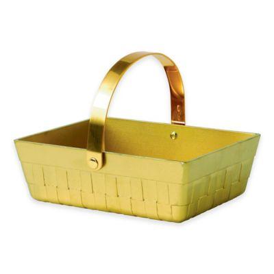 Wedgwood® Al Fresco Wild Strawberry Metal Basket