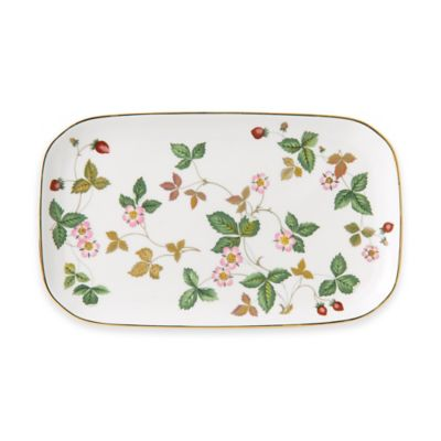 Wedgwood® Al Fresco Wild Strawberry Sandwich Tray