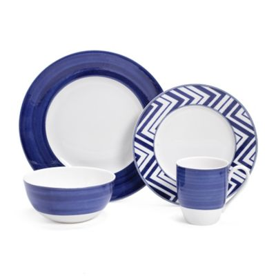Mikasa® Cadence 4-Piece Place Setting in Cobalt