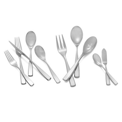 Nambe Anna 45-Piece Flatware Set