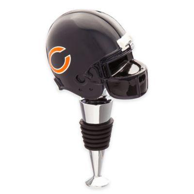 NFL Chicago Bears Helmet Bottle Stopper