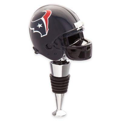 NFL Houston Texans Helmet Bottle Stopper