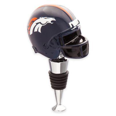 NFL Denver Broncos Helmet Bottle Stopper