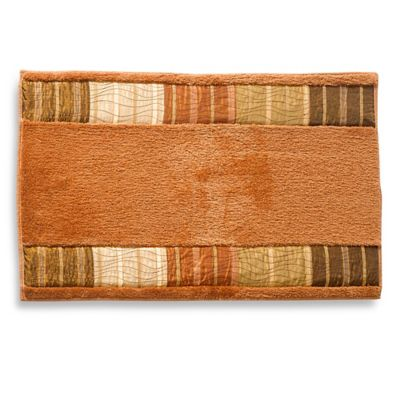 Sierra Bath Rug in Copper