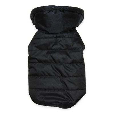 Pawslife™ Small Puffer Coat in Black