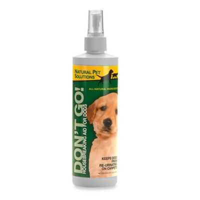 "Natural Pet Solutions™ ""Don't-Go!"" Housebreaking Aid Spray for Dogs"